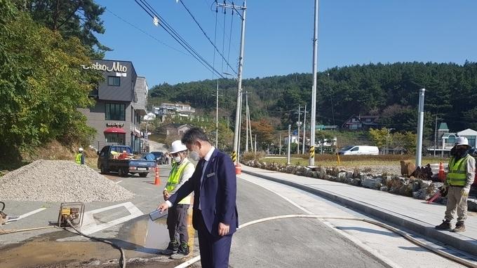 경남, 고성군 남포항 매립지, 내년 여름 야외 물놀이장으로 '대변신'
